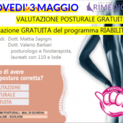 fisioterapista valutazione posturale