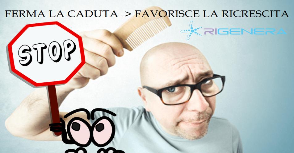 RIGENERA - Contrasta il diradamento, favorisce la Ricrescita dei Capelli