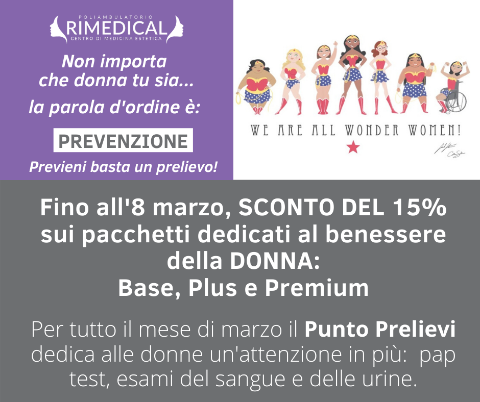 offerta pacchetti prevenzione donna