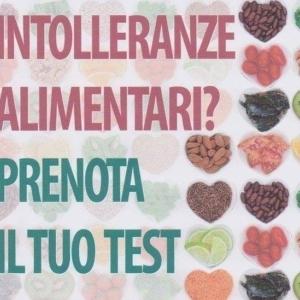 Test delle Intolleranze Alimentari in promozione fino al 30 giugno