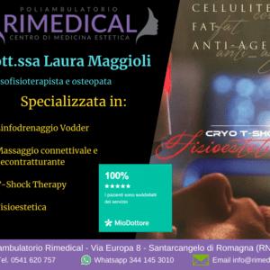 Laura Maggioli - Massofisioterapista e osteopata