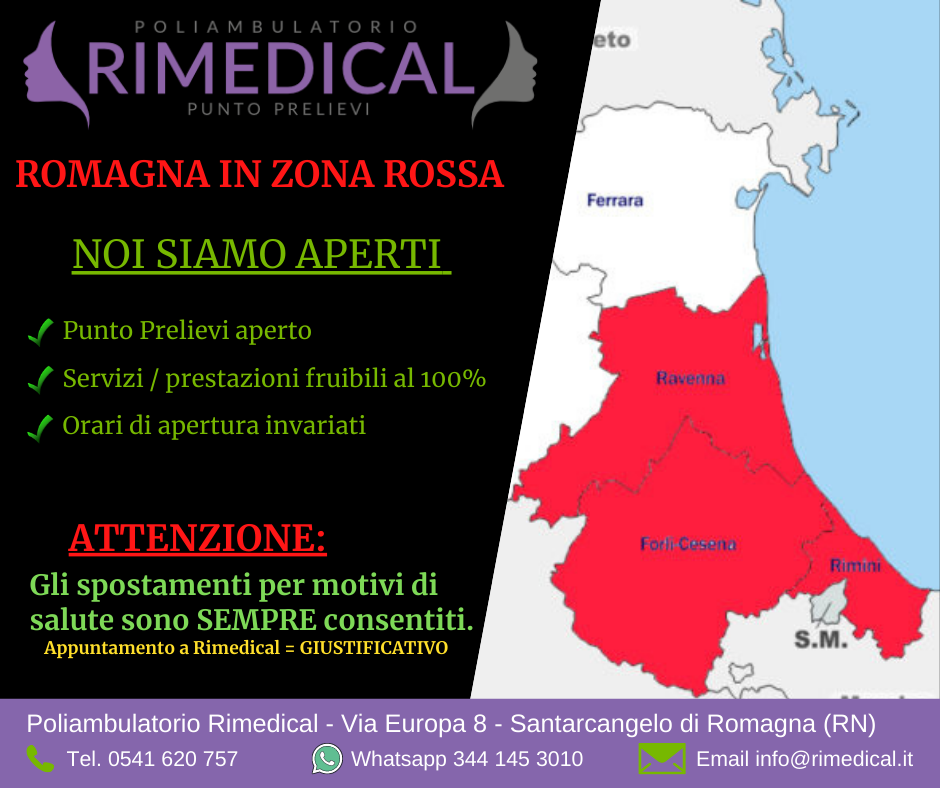 romagna zona rossa 8 marzo
