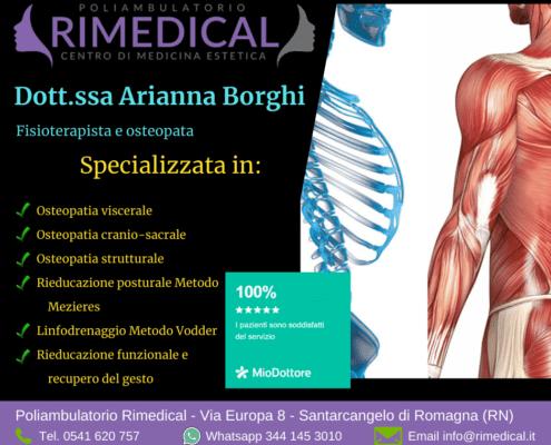 arianna borghi fisioterapista osteopata santarcangelo